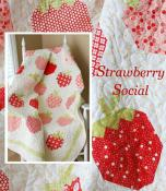 Strawberry Social quilt sewing pattern from The Pattern Basket 2