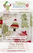 Tree Farm quilt blocks sewing pattern from The Pattern Basket