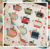 Watering Cans quilt sewing pattern from The Pattern Basket 2