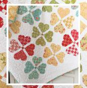 Woven Hearts quilt sewing pattern from The Pattern Basket 2