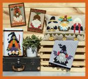 Autumn Gnomes sewing pattern from The Whole Country Caboodle 2