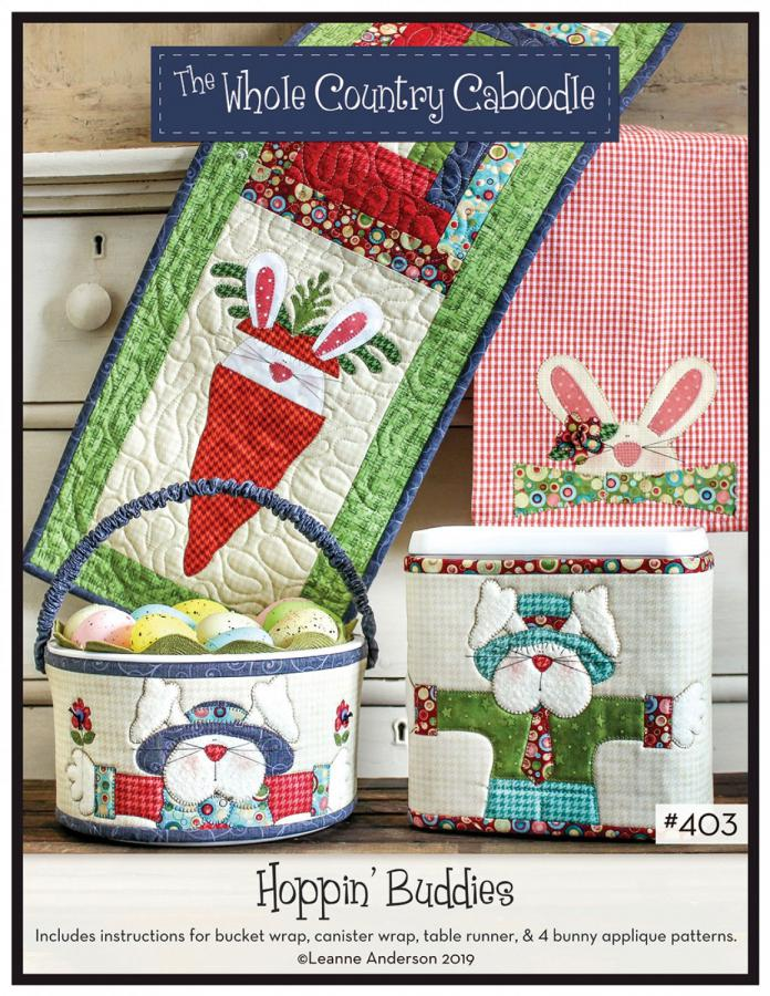 Hoppin Buddies sewing pattern from The Whole Country Caboodle