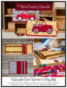 Car Carrier & Play Mat sewing pattern from The Whole Country Caboodle