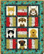 Dog & Cat Rescue quilt sewing pattern from The Whole Country Caboodle 2