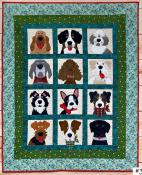 Doggies In The Windows sewing pattern from The Whole Country Caboodle 2