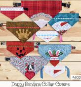 Doggy Bandana Collar Covers sewing pattern from The Whole Country Caboodle 2