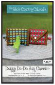 Doggy Do-Do Bag Carrier sewing pattern from The Whole Country Caboodle