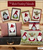 Holly Jolly Gnomes sewing pattern from The Whole Country Caboodle 2