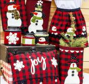 Joyful Snow Flakes sewing pattern from The Whole Country Caboodle 2