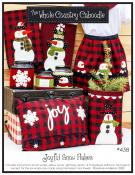 Joyful Snow Flakes sewing pattern from The Whole Country Caboodle