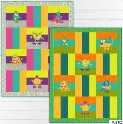 Monster Mania quilt sewing pattern from The Whole Country Caboodle 2