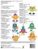 Monster Mania quilt sewing pattern from The Whole Country Caboodle 1
