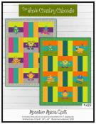 Monster Mania quilt sewing pattern from The Whole Country Caboodle