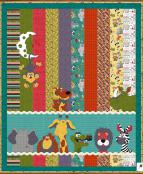 Moon and Back Critter Quilt sewing pattern from The Whole Country Caboodle 2