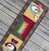 Mr. & Mrs. Flake table runner sewing pattern from The Whole Country Caboodle 2