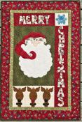 Santa & Friends quilt sewing pattern from The Whole Country Caboodle 2