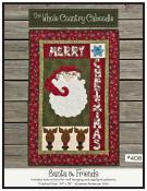 Santa & Friends quilt sewing pattern from The Whole Country Caboodle