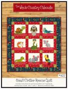 Small Critter Rescue quilt sewing pattern from The Whole Country Caboodle