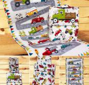 Truck Backpack & Activity Mat sewing pattern from The Whole Country Caboodle 2