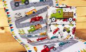 Truck Backpack & Activity Mat sewing pattern from The Whole Country Caboodle 4