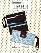 Whimsey Wallet sewing pattern from This & That