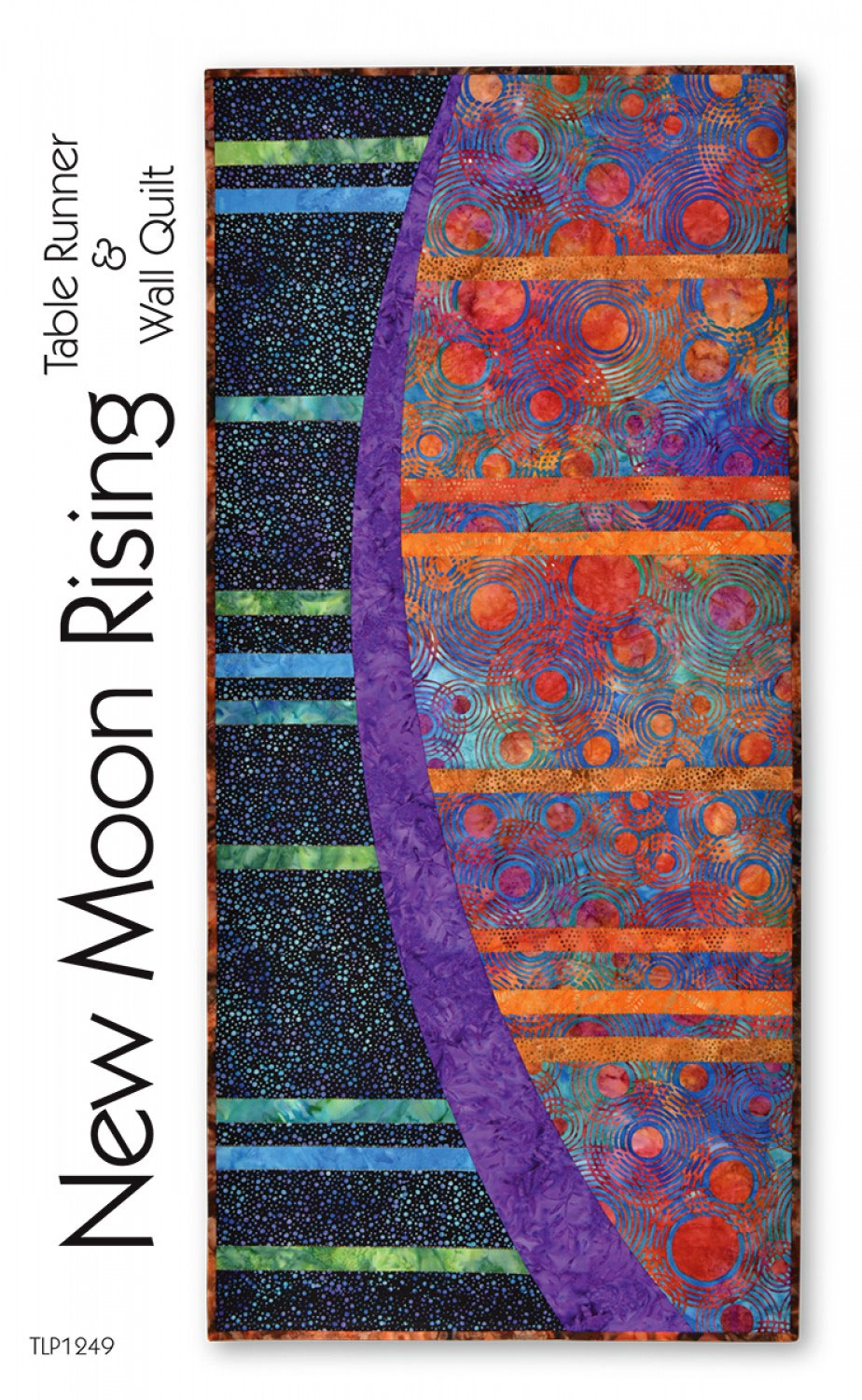 New Moon Rising Table Runner Amp Wall Quilt Sewing Pattern