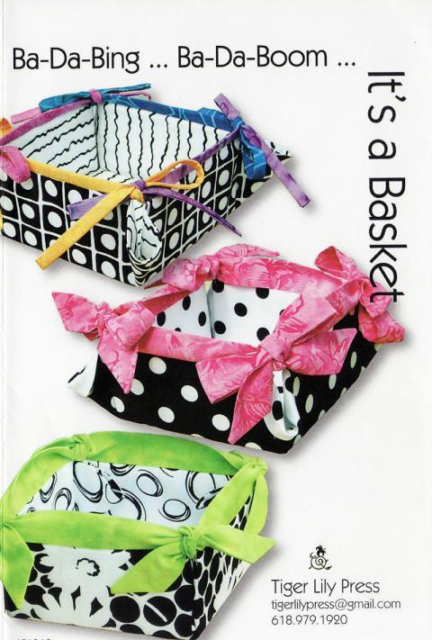 Ba-Da-Bing Ba-Da-Boom sewing pattern by Tiger Lily Press
