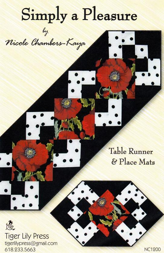 Simply A Pleasure sewing pattern by Tiger Lily Press
