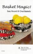 Basket Magic sewing pattern by Tiger Lily Press