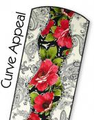 Curve Appeal Table Runner and Placemats sewing pattern by Tiger Lily Press 2