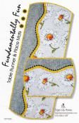 Fundamentally-fun-table-runner-and-place-mats-sewing-pattern-Tiger-Lily-Press-front