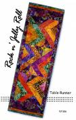 Rock N Jelly Roll Table Runner sewing pattern by Tiger Lily Press