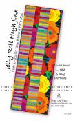 Jelly Roll High Jinx Quilt-as-you-go-Table Runner & Place Mats sewing pattern by Tiger Lily Press
