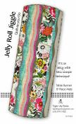 Jelly Roll Jiggle Quilt-as-you-go Table Runner & Placemats sewing pattern by Tiger Lily Press