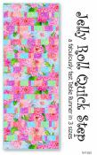 Jelly-Roll-Quick-Step-tablerunner-sewing-pattern-Tiger-Lily-Press-front