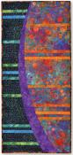 New Moon Rising Table Runner & Wall Quilt sewing pattern by Tiger Lily Press 2