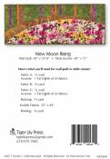 New Moon Rising Table Runner & Wall Quilt sewing pattern by Tiger Lily Press 1