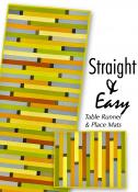 Straight and Easy Table Runner and Placemats sewing pattern by Tiger Lily Press 2