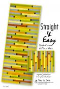 Straight and Easy Table Runner and Placemats sewing pattern by Tiger Lily Press