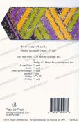 Greased Lightning Jelly Roll Runner sewing pattern by Tiger Lily Press 2