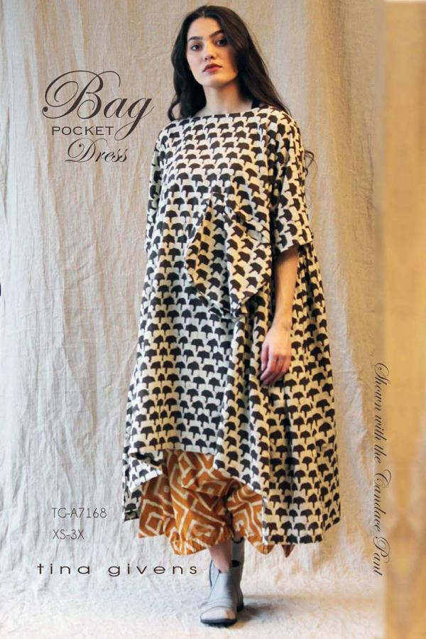 Bag Dress sewing pattern from Tina Givens