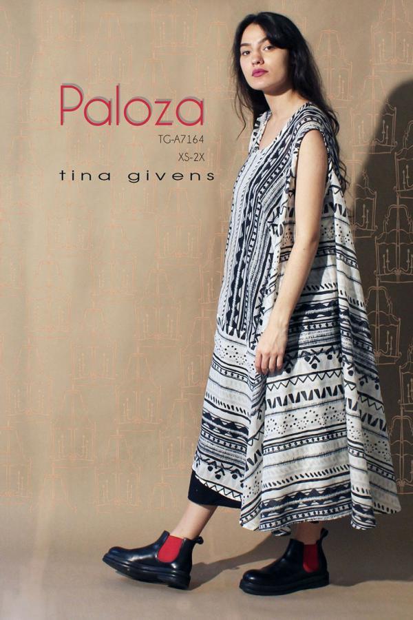 Paloza Dress sewing pattern from Tina Givens