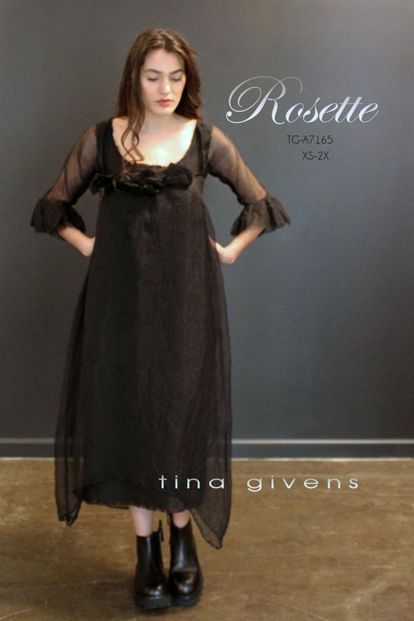 Rosette Dress sewing pattern from Tina Givens