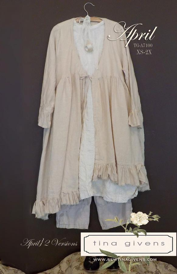 April jacket sewing pattern from Tina Givens