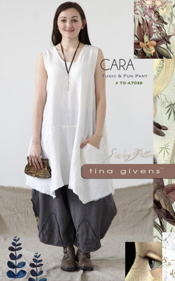 Cara Tunic and Fun Pant sewing pattern from Tina Givens