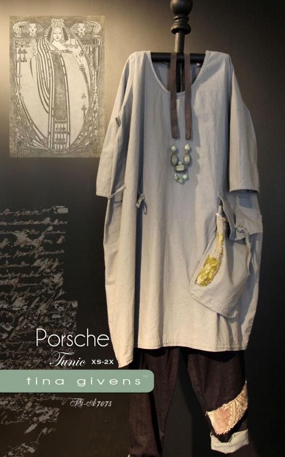 Porsche Tunic sewing pattern from Tina Givens