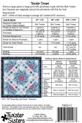 Twister Dream quilt sewing pattern from Twister Sisters 1
