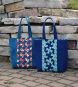 Center Twist Tote sewing pattern from Twister Sisters 2