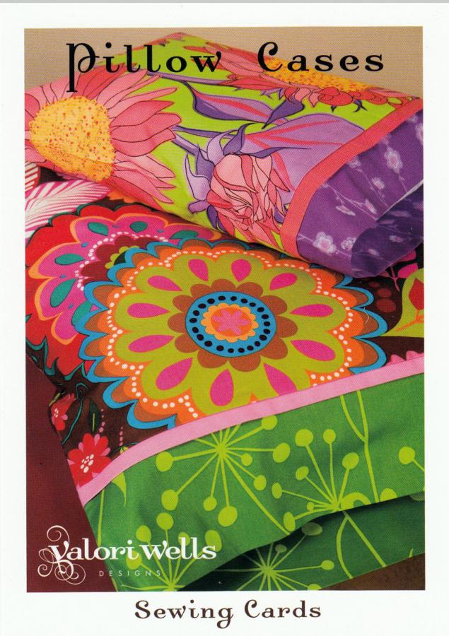 Pillow Cases sewing pattern card from Valori Wells Designs