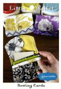 Little Wallet sewing pattern card from Valori Wells Designs